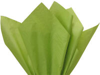 Olive Moss Green Tissue Paper For Gift Wrapping 15x20 Sheets Eco-friendly