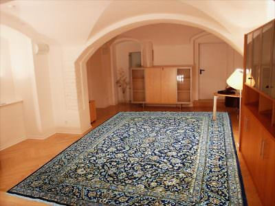 Home & Garden Rugs & Carpets Shop For Cheap Einmalig Perser Teppich Najaf Abad 415x295 Korkwolle Übergröße Blau Gold By Scientific Process