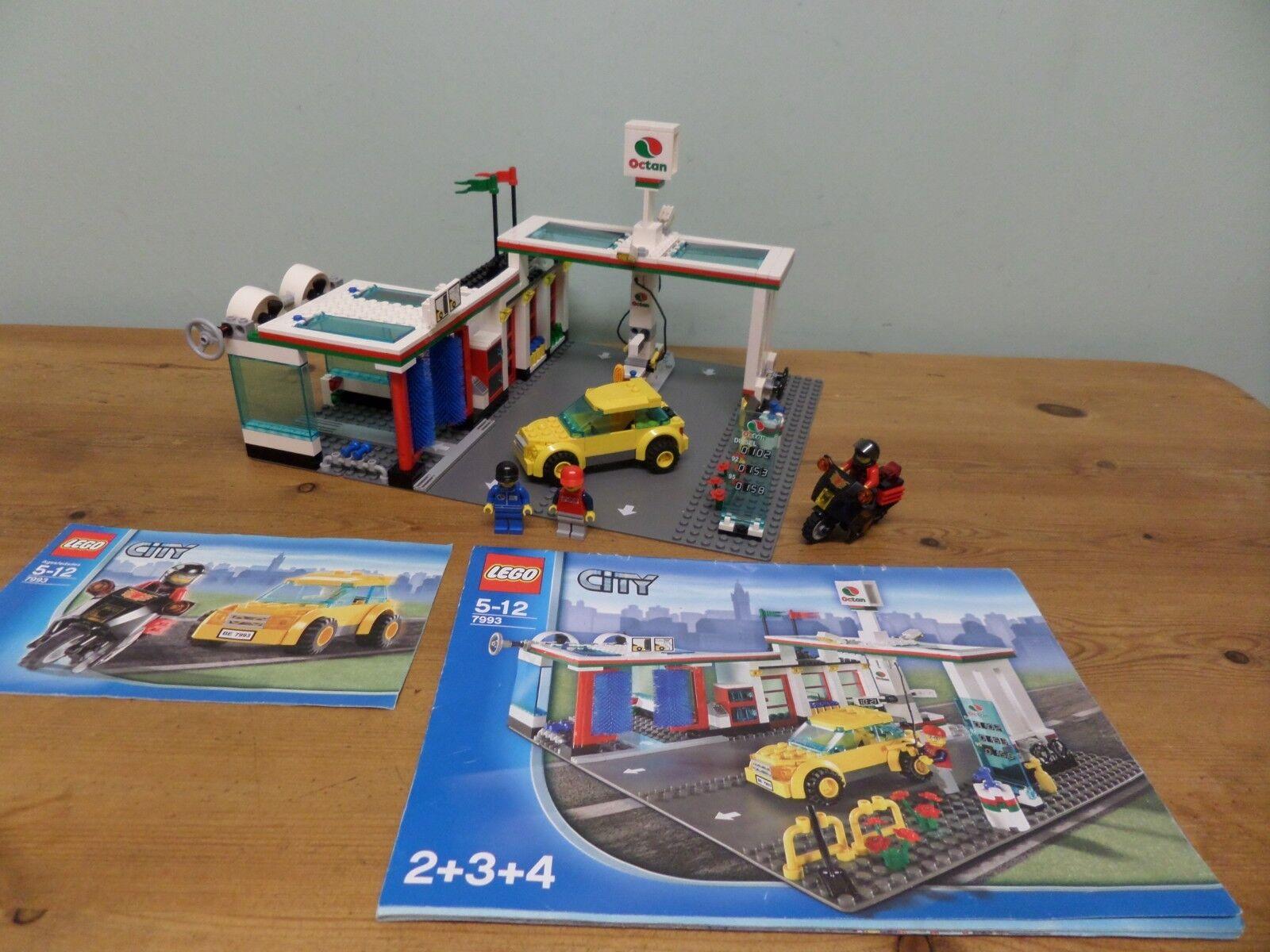 connotazione di lusso low-key LEGO Stazione di servizio 7993 100% 100% 100% completo di istruzioni  all'ingrosso economico e di alta qualità