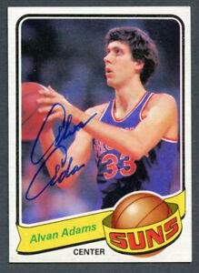 Alvan Adams #52 signed autograph auto 1979-80 Topps Basketball Trading Card