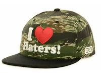 Dgk Dirty Ghetto Kids I Heart Haters Snapback Mens Black Camo Hat Cap