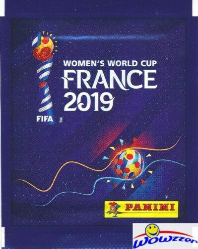 2019 Panini FIFA Women's World Cup Soccer France Sealed Packs-50 Stickers 10