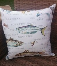 Fisherman fish cushion cover