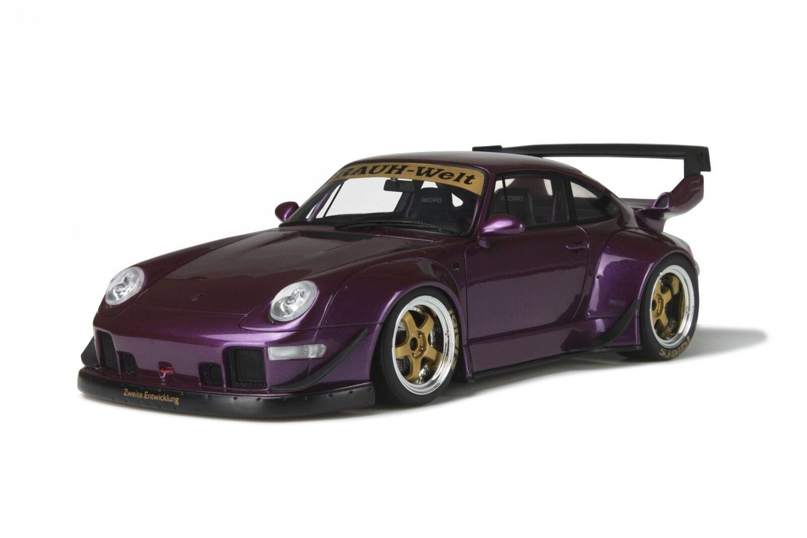1 18 gt spirit GT727 porsche 911 (993) rsf rsf rsf rauh welt. violet 73da09