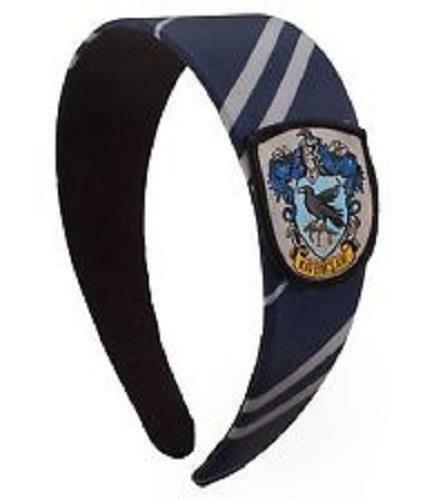 HARRY POTTER Licensed House RAVENCLAW Uniform Necktie HEADBAND w/ Crest COSPLAY