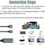 thumbnail 9 - 1080P HDMI Mirroring Cable 6Ft Phone to TV HDTV Adapter For iPhone iPad Android