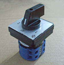 Mains 240v power selector switch 16amp, 2 pole 2 way PSS016