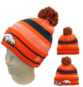 fb2d01b5d17c3 DENVER BRONCOS BEANIE NEW ERA CUFFED BRONCOS THICK KNIT NFL LICENCES ...