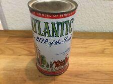 Atlantic Beer (32 16) empty flat top beer can by Atlantic Charlotte NC