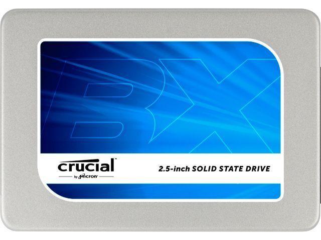 "Crucial BX200 2.5"" 240GB SATA III Internal Solid State Drive (SSD) CT240BX200SSD"