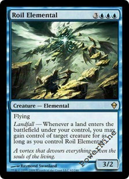 x1 Into the Roil Zendikar Near Mint 1x Foil English -BFG- MTG Magic