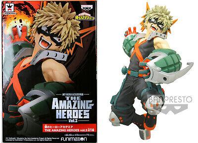 Figurine My Hero Academia Katsuki Bakugo The Amazing Heroes Vol.3