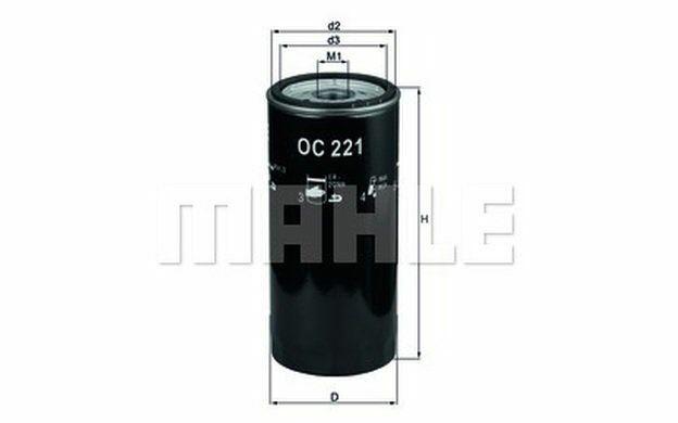 KNECHT Filtre à huile pour AUDI 80 OC 221 - Pièces Auto Mister Auto