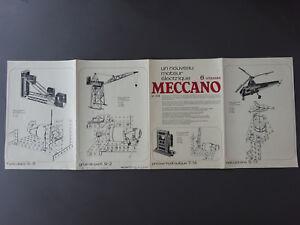manuel Meccano moteur électrique