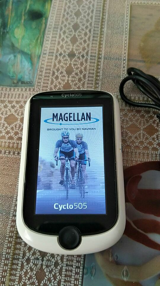 Magellan Cyclo 505 GPS Cycling Computer Biking Speedometer No accessories