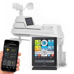 AcuRite-01036-Pro-Color-WEATHER-STATION-Wireless-amp-PC-Conect-WEATHER-STATION