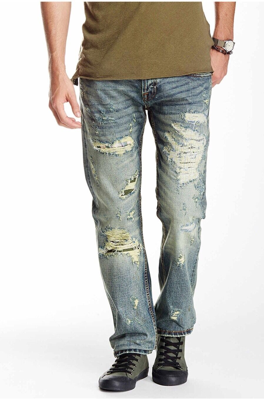 NWT  Men's Cult of Individuality Hagen Relaxed Jeans 31 X 34 Jelado