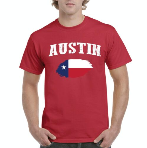 Austin Texas Men Shirts T-Shirt Tee
