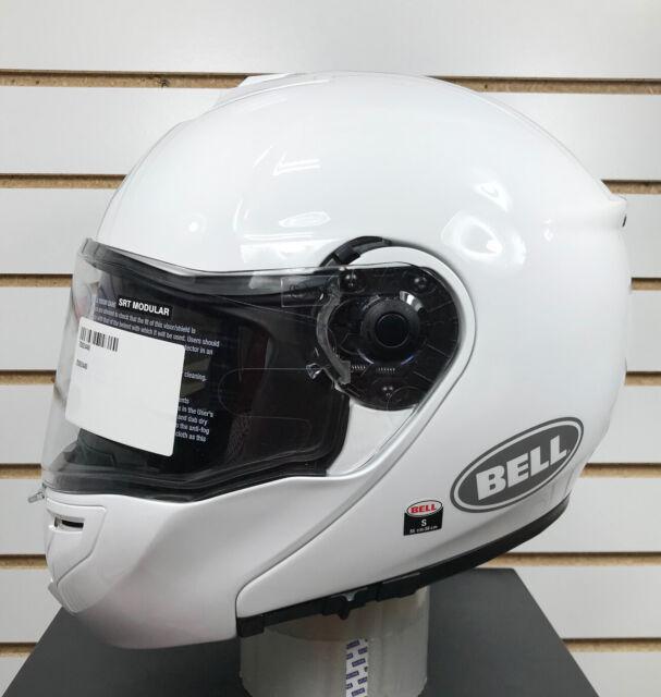 Bell Srt Modular Helmet Solid White Small 7092446 For Sale Online Ebay