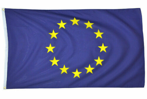 Details about  /Mil-Tec NEW European Union UE Flag 5ft x 3ft Large Euro Blue with Yellow Stars