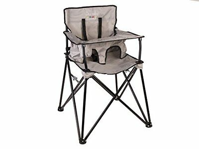 Fantastic Ciao Baby Portable High Chair Grey Check Ebay Gmtry Best Dining Table And Chair Ideas Images Gmtryco