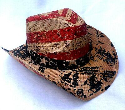 FleißIg Cowboyhut Mit Hutband, Formbarer Krempe Westernhut Strohhut Country Um 50 Prozent Reduziert