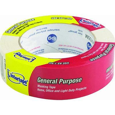 IPG 5102-1.5 General-Purpose Masking Tape 60 yd L 1-1//2 in W 5 mil Thick