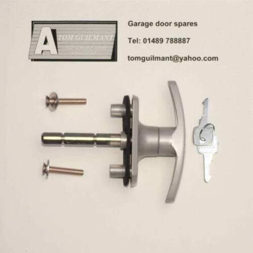 Henderson Merlin Doric Garage Door Lock T Bar Handle Short Spigot