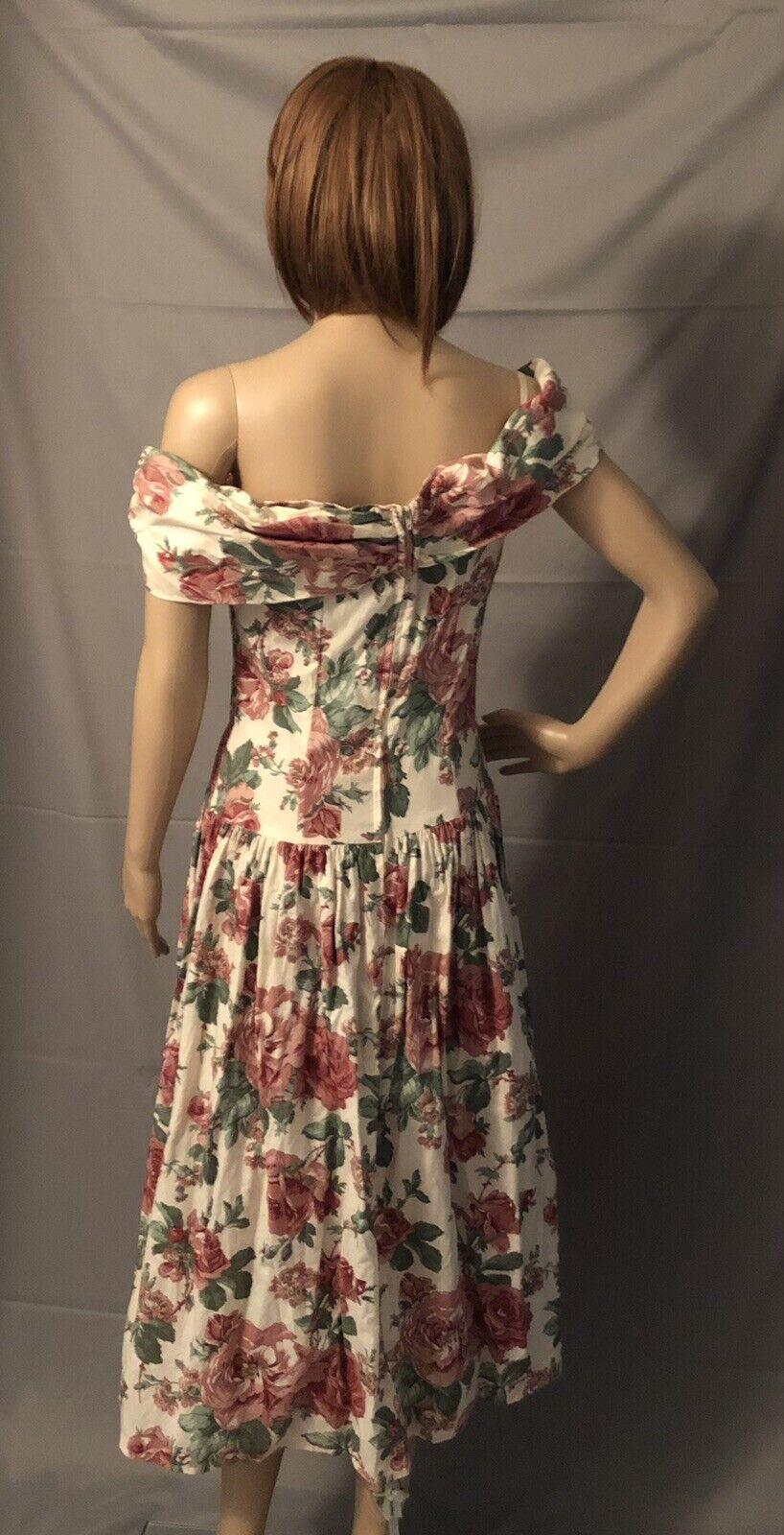 Vintge 1980s Gunne Sax Dress Dillards Dead Stock … - image 4