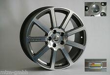 MTM Bimoto Felge 9,5x19 ET 45 35 30 25 Titanpoliert 5x112 57,1 Audi VW Alufelge