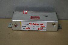 1992 BMW 318i 325i Ecu engine control unit 34521158706 Module 39 6F1