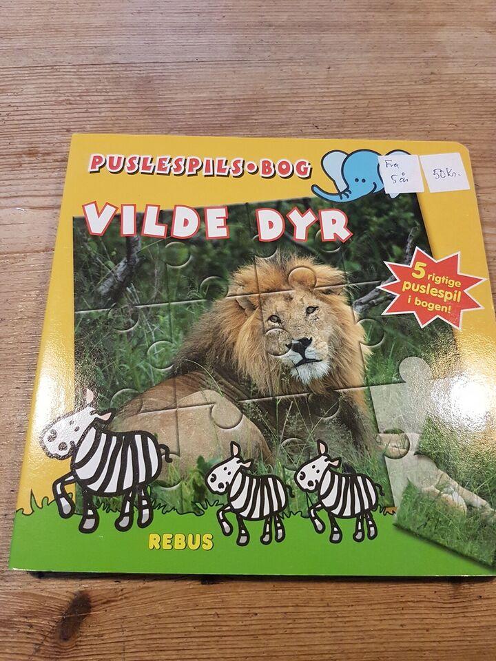 Vilde dyr, Børn, puslespil
