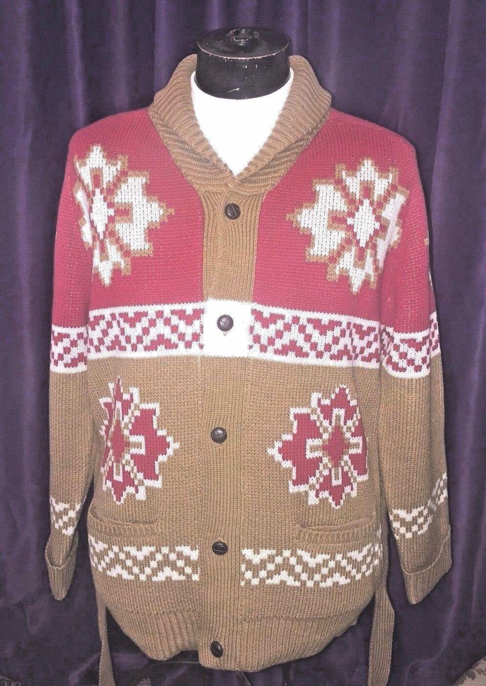 Evisu knit wear cardigan XL