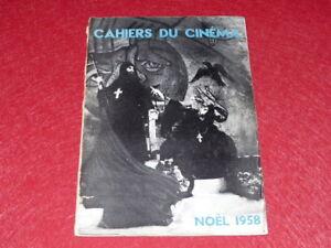 REVUE-LES-CAHIERS-DU-CINEMA-N-90-DEC-1958-NOEL-1958-EO-1rst-Print