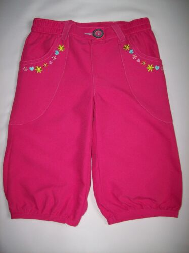 BNWOT GIRLS CHAD VALLEY PINK CROPPED COMBAT TROUSERS AGE 18-24 MONTHS ONLY