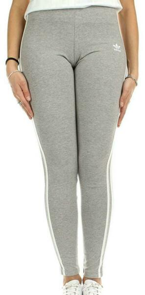 3 Streifen Tight Leggins Women's Grey