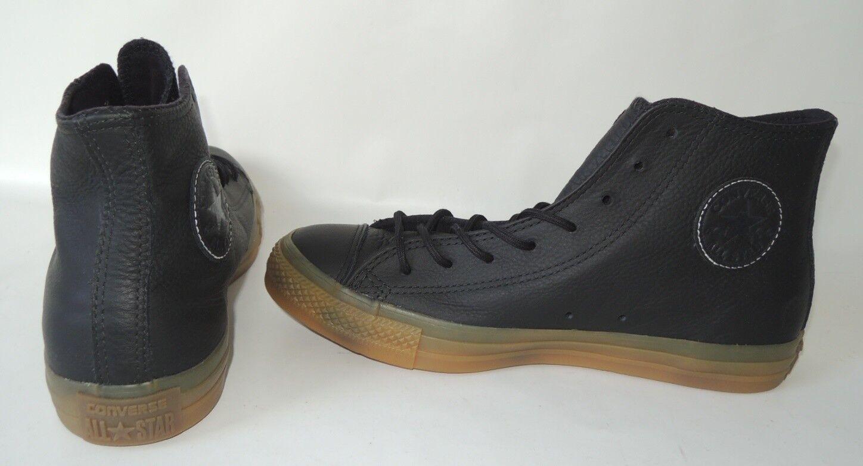 NEU Converse All Star Hi 43 Chuck Taylor Leder Sneaker Chucks Schuhe 156480C NEU