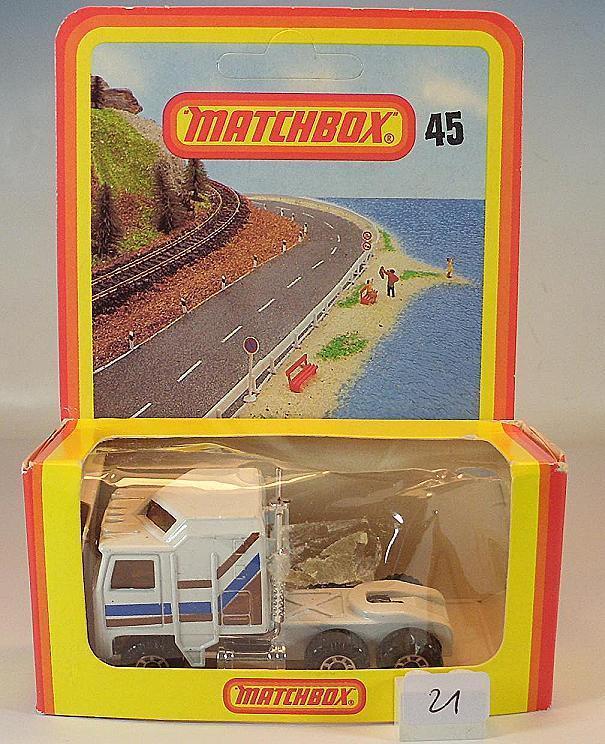 MATCHBOX SUPERFAST Nº 45 Kennworth TRACTEUR Nº 3 allemands Hösbach neuf dans sa boîte  021