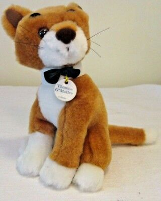 "Disney Thomas O'Malley 7"" Plush ~ Made Exclusively for Video Release ARISTOCATS"