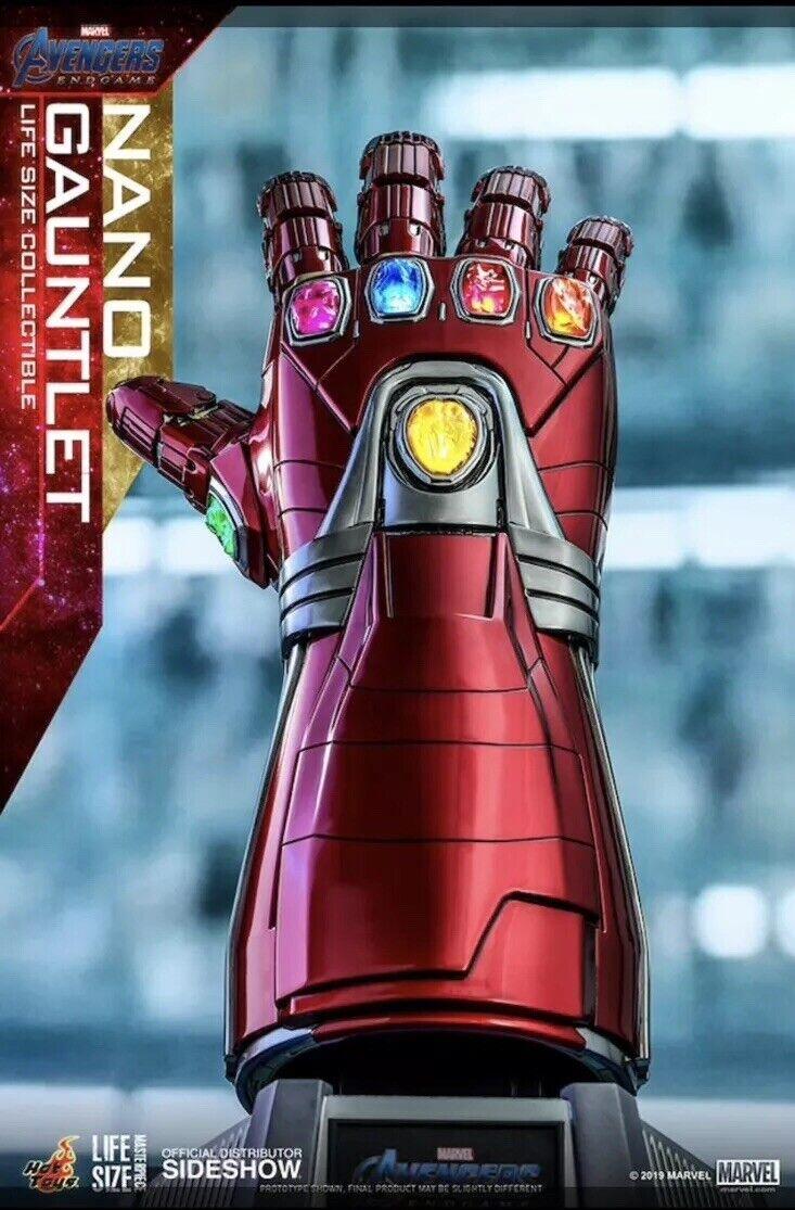 Caliente giocattoli Iron uomo  Nano Infinity Gauntlet 1 1 Life Dimensione Avengers Endgioco  prezzo all'ingrosso e qualità affidabile