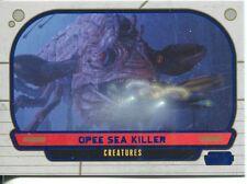 Star Wars Galactic Files Blue Parallel #299 Opee Sea Killer