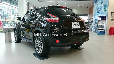 MIT exhaust tip pipe finisher stainless steel for nissan JUKE 2011-2015