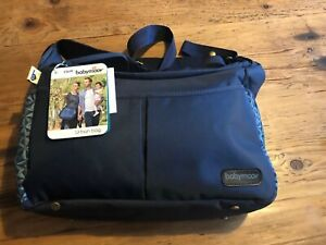 Babymoov-USA-Diaper-Changing-Change-Bag-Urban-Bag-Blue-Geometric