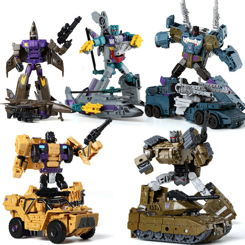 Transformed toys Transformers Onslaught  5 in 1 Bruticus multi component model