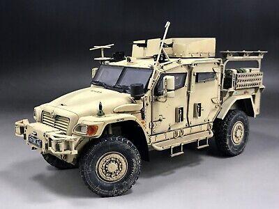 1 35 Built Meng Vs009 British Army Husky Tactical Support Vehicle Model Ebay