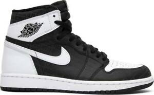 6f07ceb5a6a Air Jordan 1 Retro High OG RE2PECT Derek Jeter Black White Size 11 ...