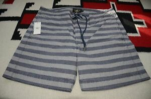 Ralph Lauren RRL 100% Cotton Swimming Swim Board Shorts Trunks