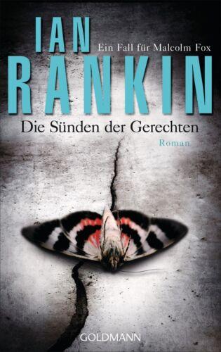 1 von 1 - Die Sünden der Gerechten - Malcolm Fox 2 von Ian Rankin, UNGELESEN