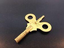 Waterbury Antique Clock Key size 6/4 Brass Double End Key New