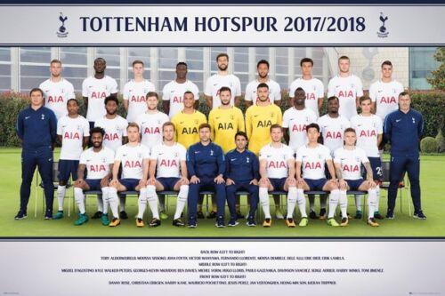 TEAM PHOTO 2018 POSTER 24x36 FC SOCCER FOOTBALL 34309 TOTTENHAM